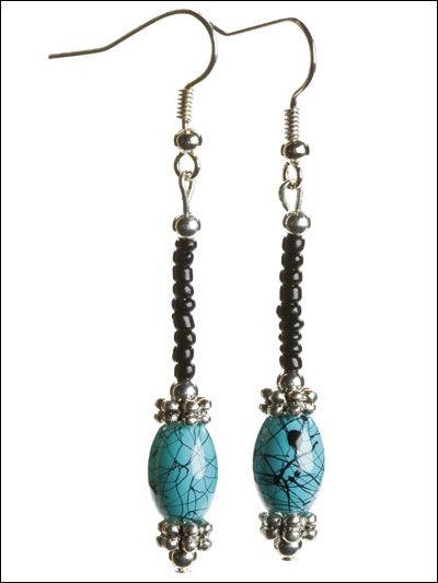 Black & Turquoise Set