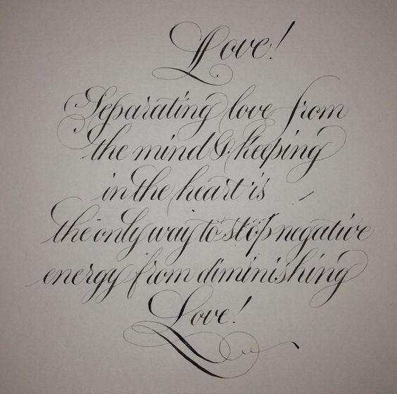 Copperplate Script Type Calligraphy Pinterest Scripts