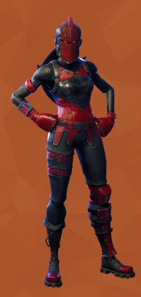 The Red Knight Fortnite Red Knight Blackest Knight