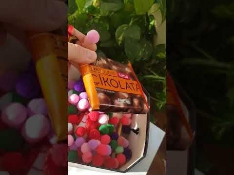 بوكس هدايا هدايا مميزه محروفه هديه لحبيبتي هدايه لعيد ميلاد تصميم وافكار هديه شوكولاه دبدوب وساعه Youtube Popcorn Maker Food Convenience Store Products