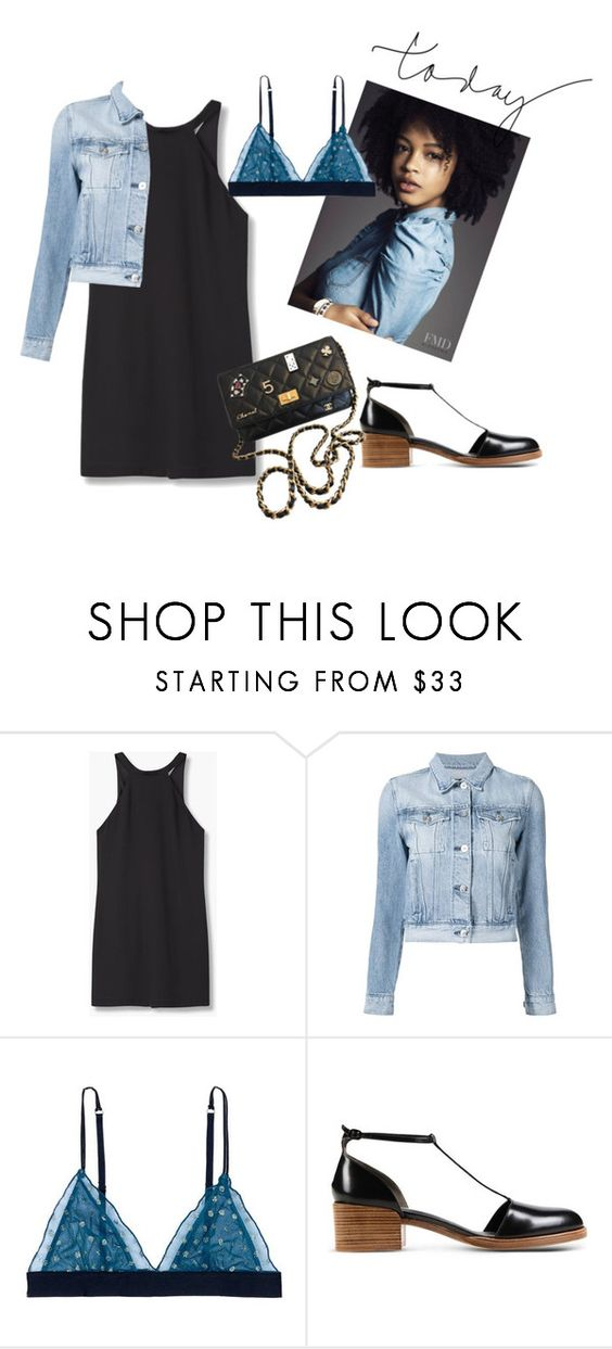 """""""Untitled #119"""" by pesevskamilica ❤ liked on Polyvore featuring MANGO, 3x1, LoveStories, 3.1 Phillip Lim and Chanel"""