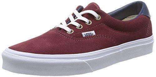 Vans ERA 59, Unisex-Erwachsene Sneakers, Rot ((Suede/Leather) FMW), 47 EU - http://on-line-kaufen.de/vans/47-eu-vans-era-59-unisex-erwachsene-sneakers-9
