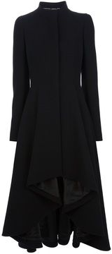 Alexander McQueen long pleated coat on shopstyle.com