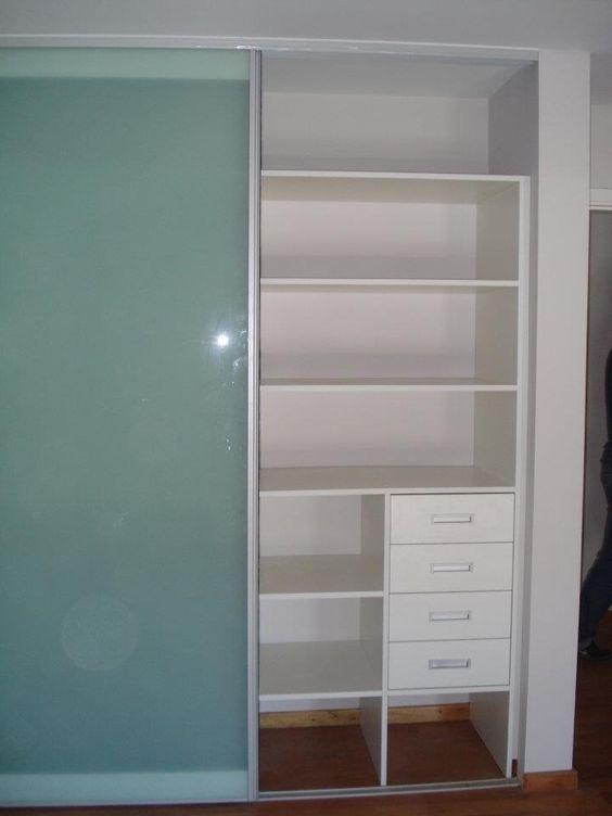 Muebles a medida. Interiores de placard
