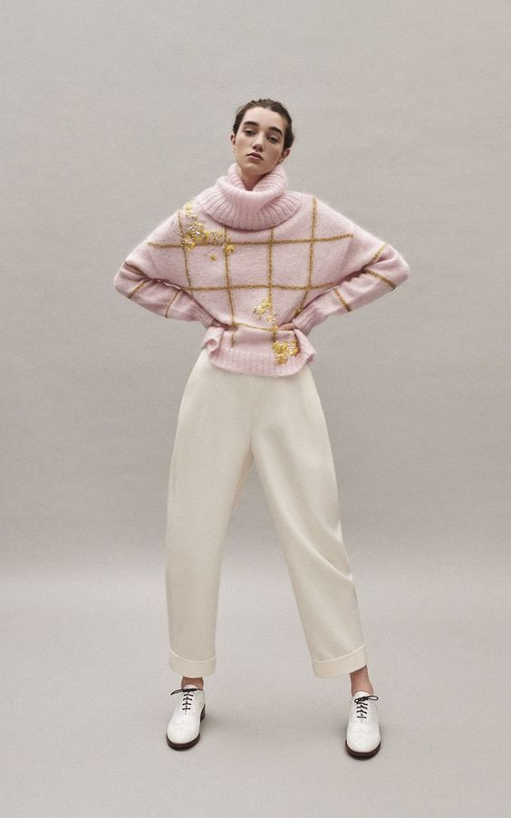 DELPOZO Sequin-Embellished Glitter-Embroidered Mohair Sweater