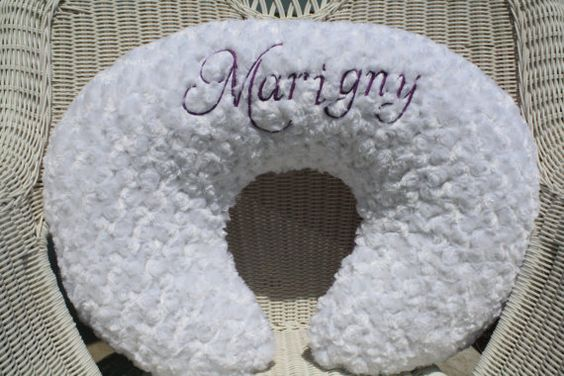Boppy CoverLimited Time Personalized Lilac by DesignsbyChristyS, $30.00