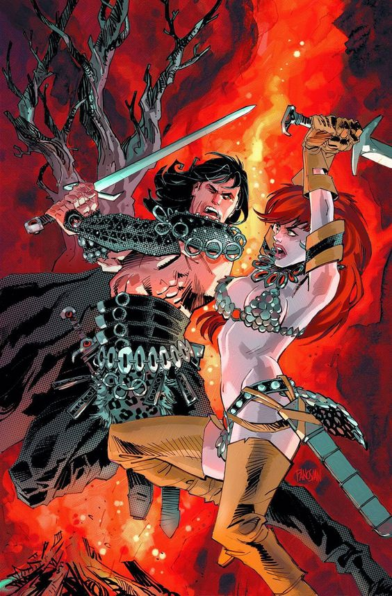 Dark Horse Cover of the Day: Conan Red Sonja #1