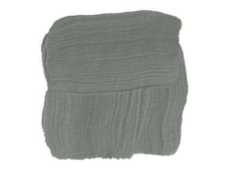 Perfect Grays. Links to more paint colors. Down Pipe (#26) from Farrow and Ball  A rich, darker gray