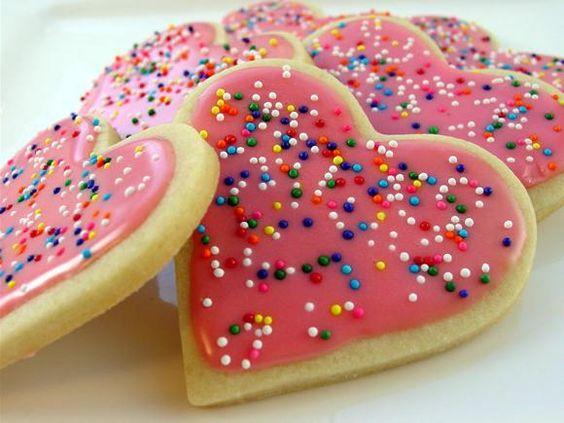 ♔ Cookies: Фигурное сахарное печенье