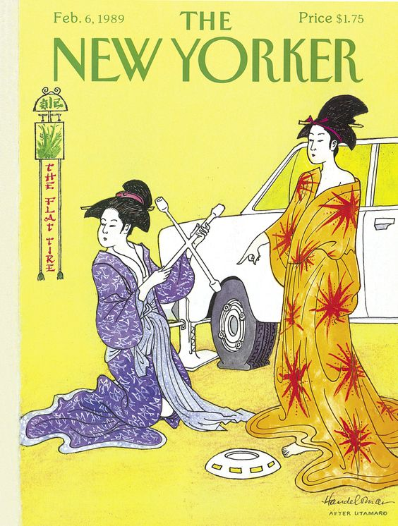 The New Yorker - Monday, February 6, 1989 - Issue # 3338 - Vol. 64 - N° 51 - Cover by : John Bernard Handelsman