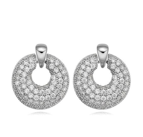 Rhinstones Crystal Earrings - Q225.00