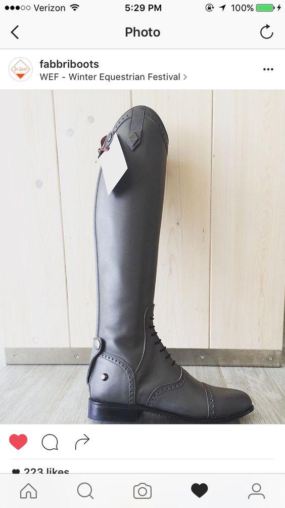Grey pro boot fully custom from f.illi fabbri I love these