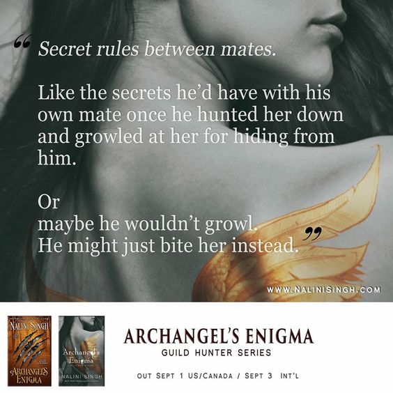 Archangels Enigma by Nalini Singh( one of her best):