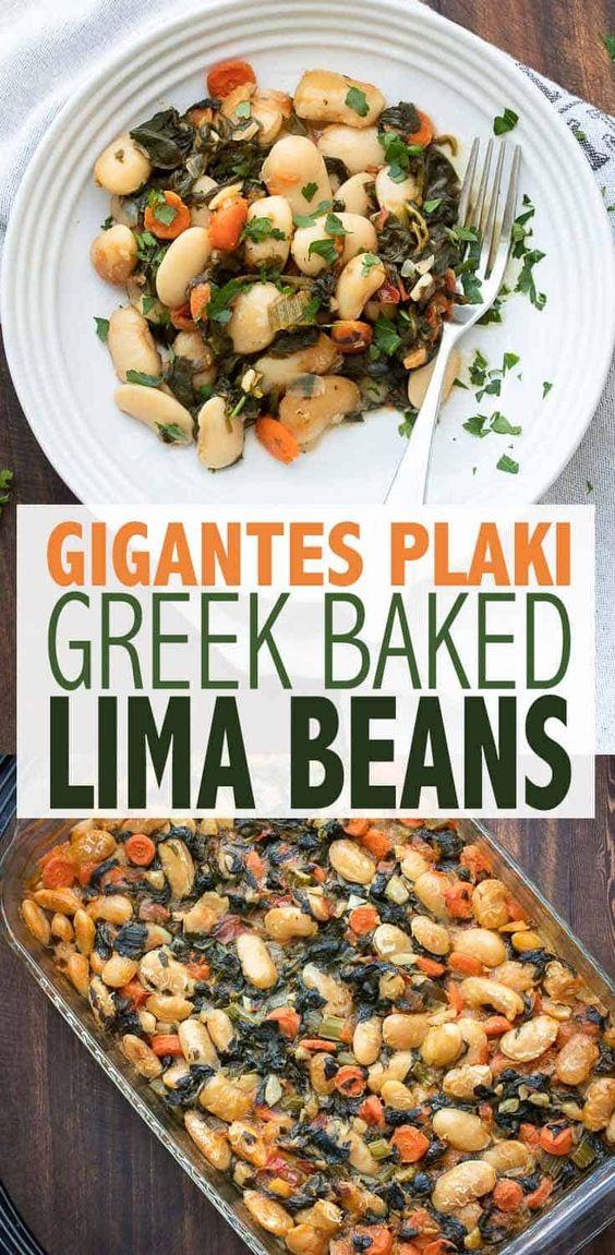 Baked Lima Bean Recipe (Gigantes Plaki)