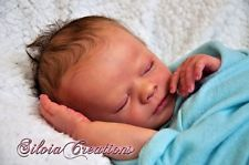"Reborn Realborn Doll Kit ""Clyde"" Sleeping"" with Birth Certificate (KIT09)"