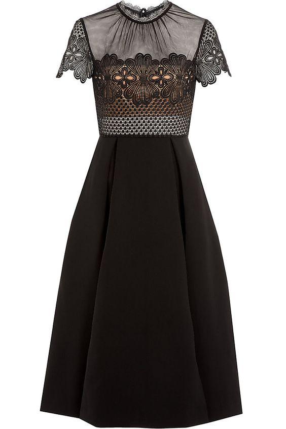 Felicia Embroidered Midi Dress detail 0