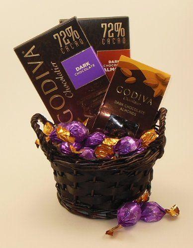 Gourmet Dark Chocolate Gift Basket – Gift Ftempo