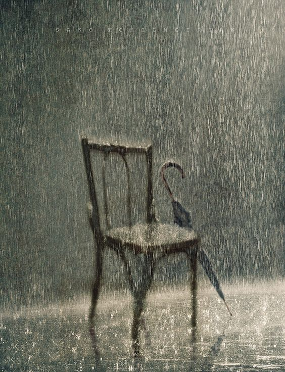 The rain came, but he was gone