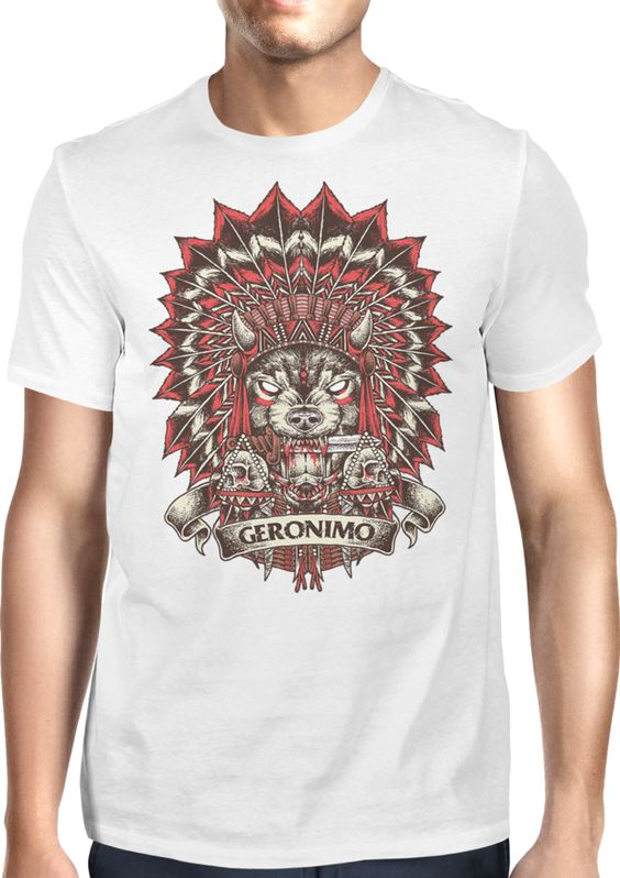 Chief of the wolves - Dhaporshankh Guys Tee