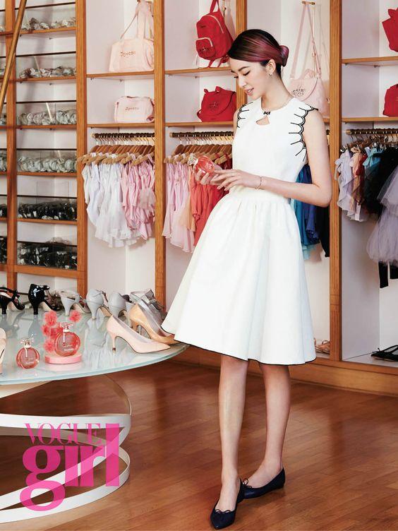 Irene Kim - Vogue Girl Magazine June Issue '15