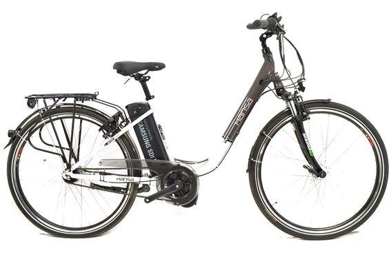 TOP Prophete 36 Volt Elektro-Fahrrad 28″ Mittelmotor Samsung 7-Gang Nexus Nabe « Bike-Park Dissen