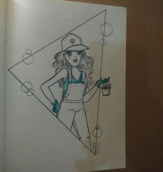 Day 16 By Chagas Ilustrações/Luciana Chagas #inktober2go #inktober #inktober2015