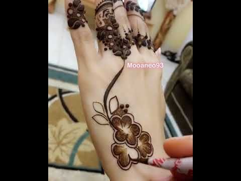 نقش حناء جديد Youtube Henna Mehndi Make It Yourself