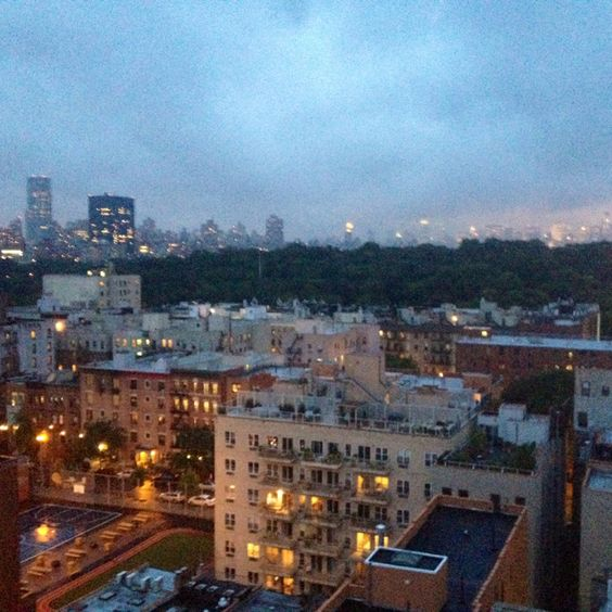 View of Central Park North from South Harlem!