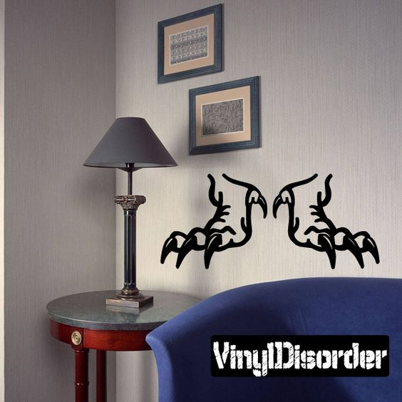 Ripped Wall Decal - Vinyl Decal - Car Decal - CD6027