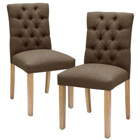 Brookline Tufted Dining Chair Moderne Stuhle Esszimmerstuhle Und Runder Bauerntisch