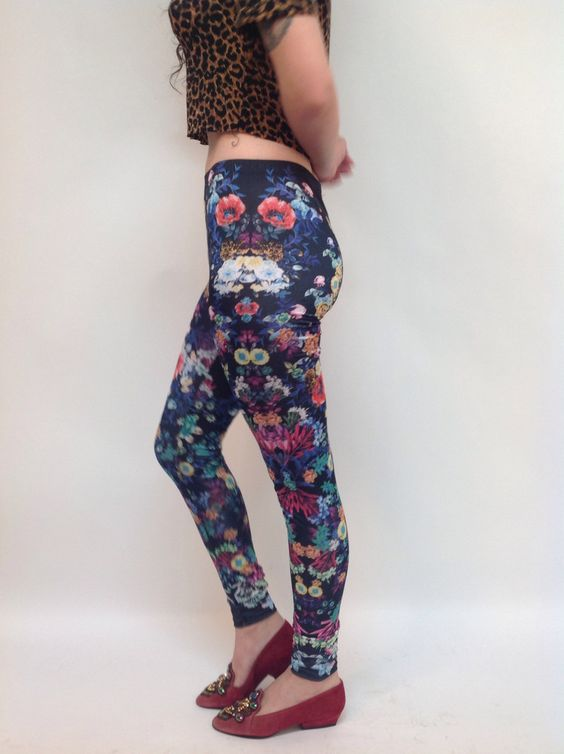 Deadly Nightshade Leggings