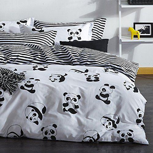 Dose Of Modern Panda Super King Quilt Cover Set Eu It