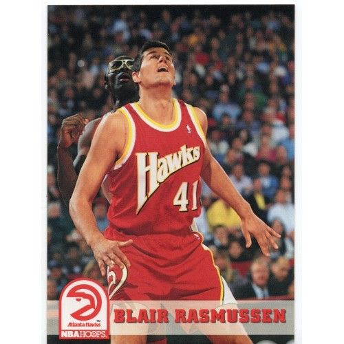 For Sale 1993 94 Hoops Atlanta Hawks Basketball Card 6 Blair Rasmussen Ba97 Webstore In 2020 Atlanta Hawks Basketball Atlanta Hawks Basketball Cards