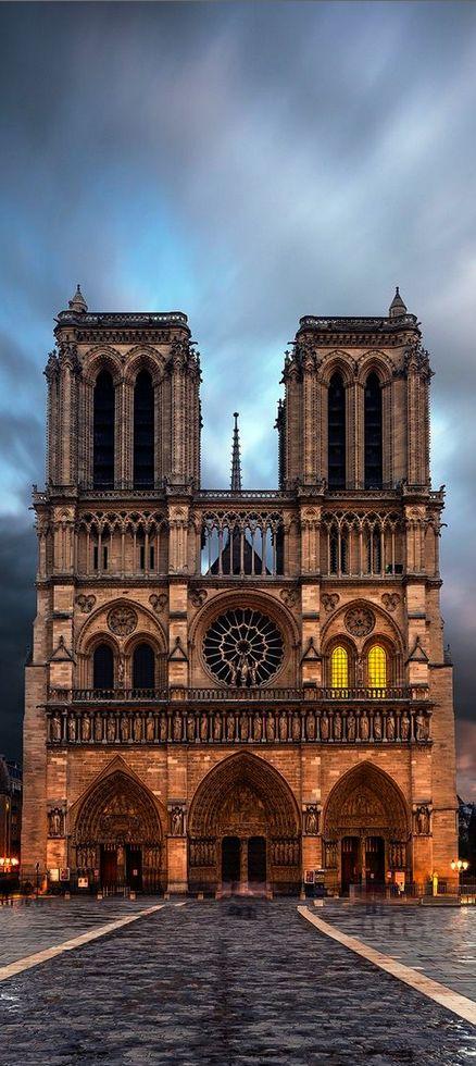 Notre Dame, Paris, France: