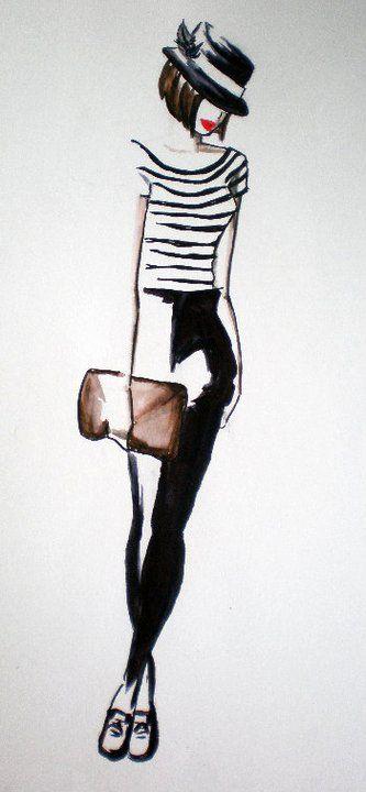 Parisenne Sketch