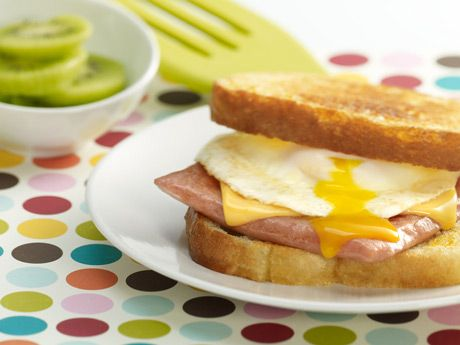 Cheese and Egg-SPAM® Sandwich - Savings Alert: FREE dozen eggs ...