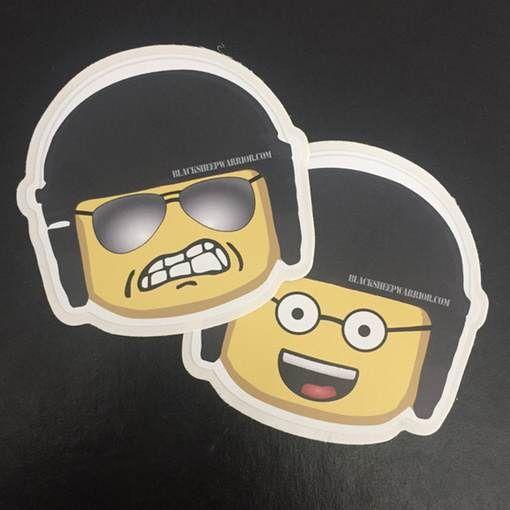 Bad Cop Sticker Set
