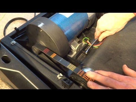 How To Replace Drive Belt On Sole Treadmill - YouTube