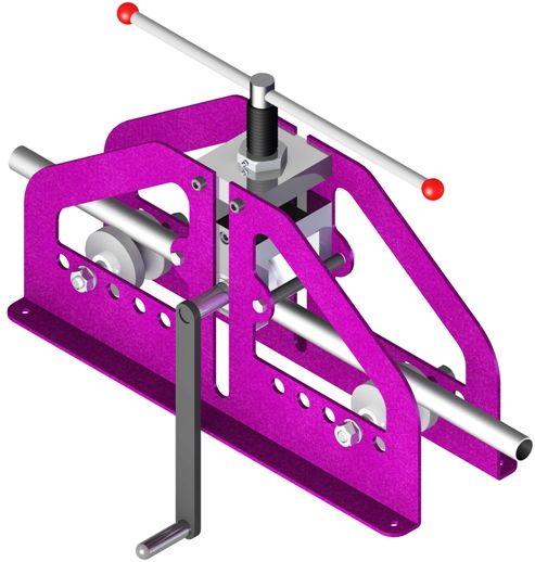 3 Roll Bender Кромкогиб прес трубогиб Press Pipes