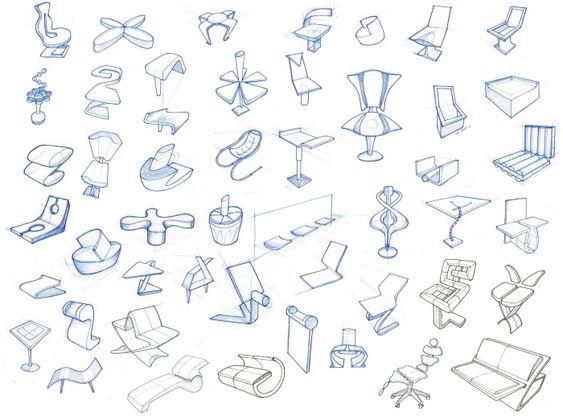 Chair design sketches sit on it pinterest stuhl for Mappe produktdesign
