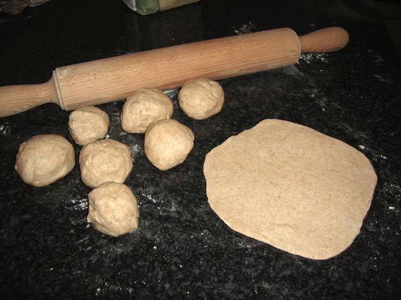 Grain-free Almond Flour Homemade Tortillas (gluten free, grain free, yeast free)