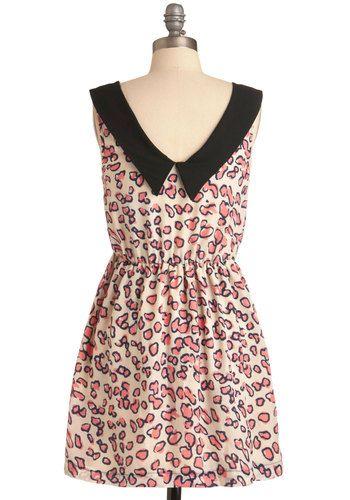 An Ocelot Like Love Dress, #ModCloth