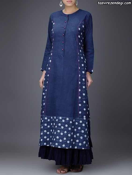 31 مدل پیراهن هندی نخی 2018 مناسب دوخت مانتو نخی برای تابستان 97 مجله تصویر زندگی Fashion Clothes For Women Kurti Designs