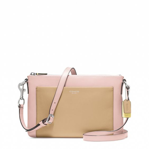 Coach :: LEGACY COLORBLOCK LEATHER SWINGPACK