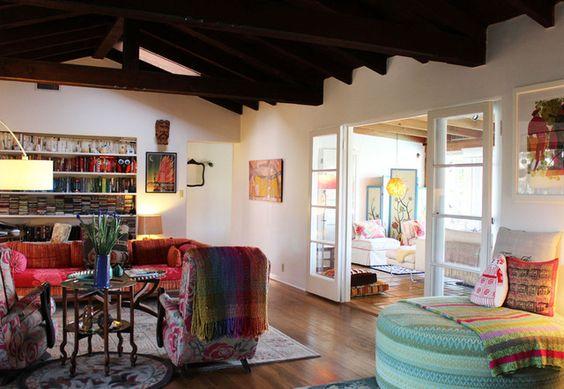 Lindsey\u0027s Indoor/Outdoor Home in the San Rafael Hills Pinterest