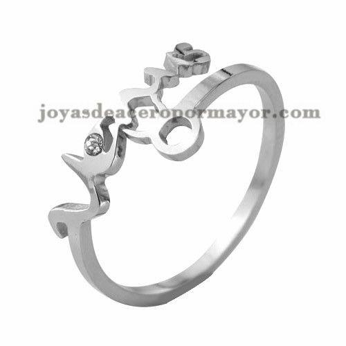 anillo de constelacion Tauro plateado moda diseno nuevo en acero inoxidable…