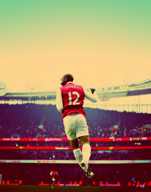 """I eat football, I sleep football, I breathe football. I am not mad, I am just passionate."" Thierry Henry"