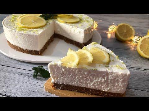 تشيز كيك بالحامض روووعة بدون جيلاتين من الذ واسهل مايكون يستحق التجربة Youtube Desserts Cheesecake Cake