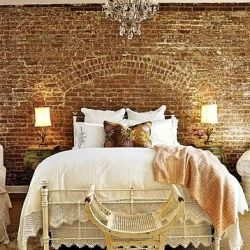 Exposed brick can look so amazing