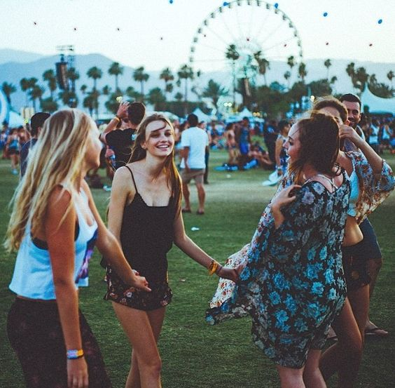 Me and my best friends are going to definitely try and go to Coachella when we are older x